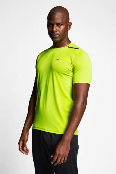 Neon Yeşil Erkek Kısa Kollu T-Shirt 21B-1004