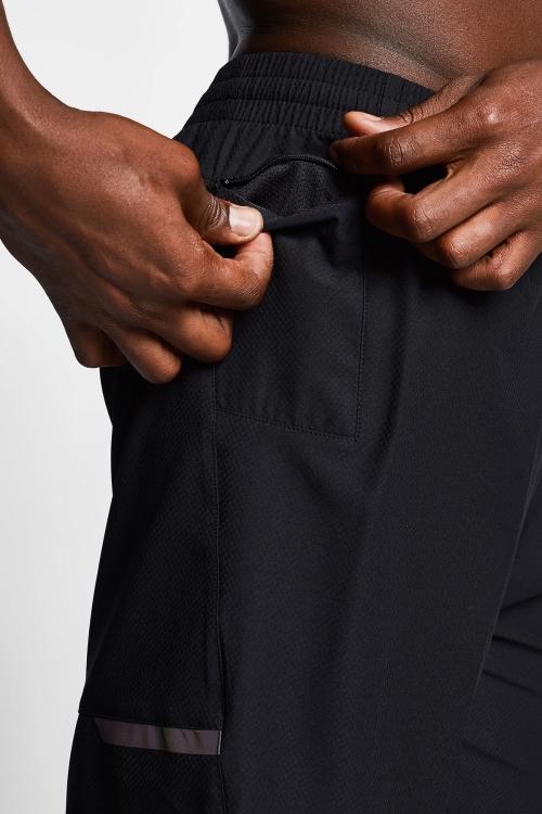 Siyah Erkek Taytlı Şort 21B-1007
