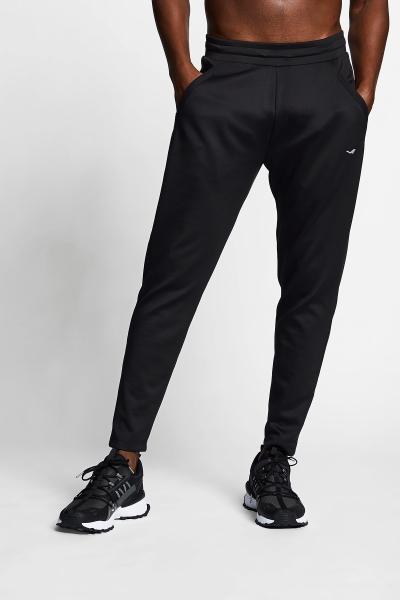 21B-1020 Men Exercise Sweat Pants Black