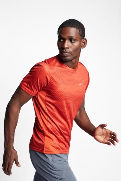 Kiremit Erkek Kısa Kollu T-Shirt 21B-1023