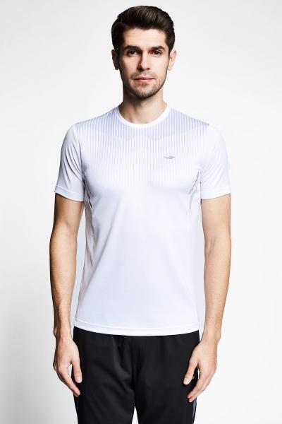 21B-1032 Men Short Sleeve TShirt White