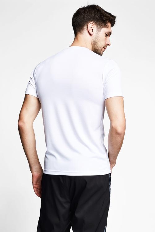 Beyaz Erkek Kısa Kol T-Shirt 21B-1032