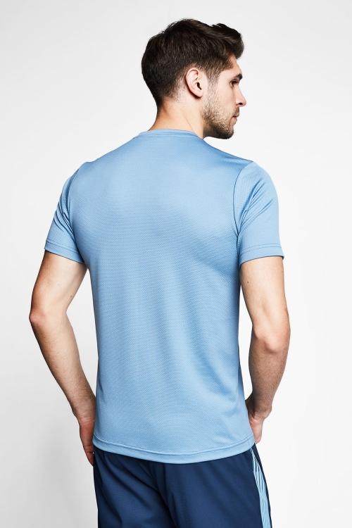 Gölge Mavi Erkek Kısa Kol T-Shirt 21B-1032