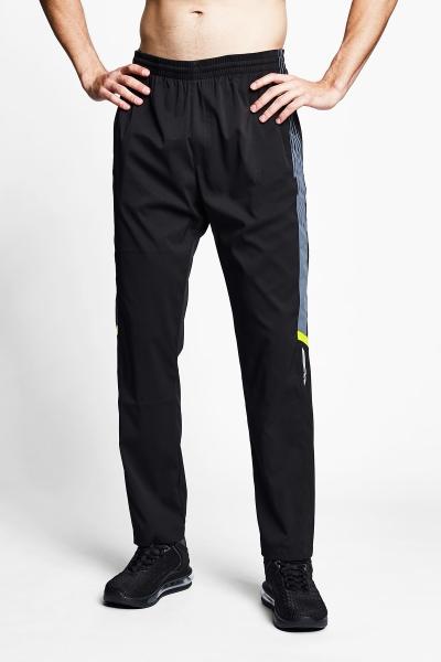 21B-1037 Men Track Pants Black