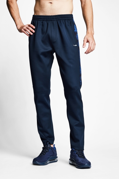 21B-1103 Men Track Pants Navy