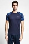 Lacivert Erkek Kısa Kollu T-Shirt 21B-1156