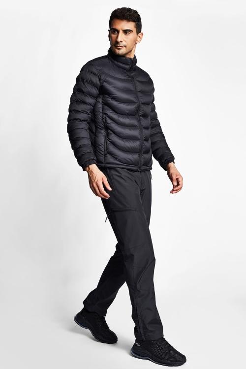 Siyah Erkek Mont 21K-1061