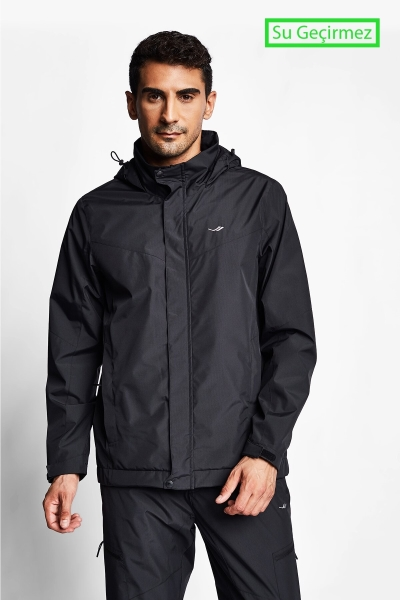 21K-1067 Men Coat Black