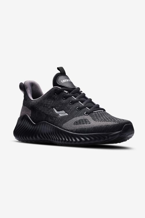 Hellium Trojen Siyah Kadın Spor Ayakkabı