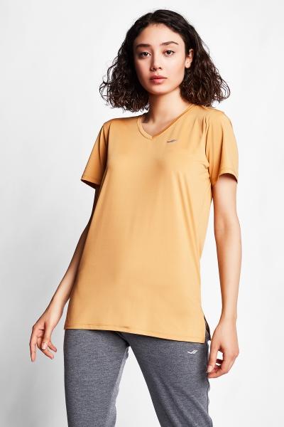 21S-2208-21N Women T-Shirt Caramel