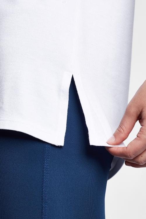 Beyaz Kadın T-Shirt 21S-2210-21N