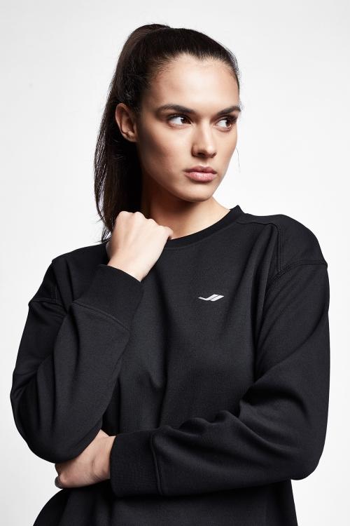 Siyah Kadın Sweatshirt 21S-2212-21N
