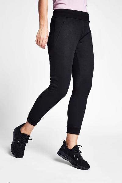 21S-2240-21N Women Track Pants Black