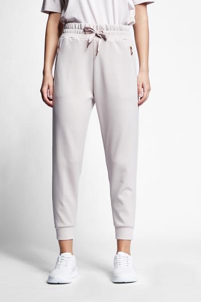 21N-2102 Women Track Pants Ivory