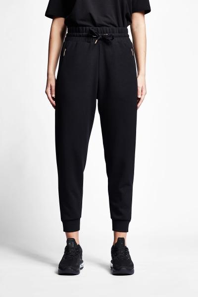21N-2102 Women Track Pants Black