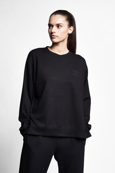 21N-2105 Women Sweatshirt Black
