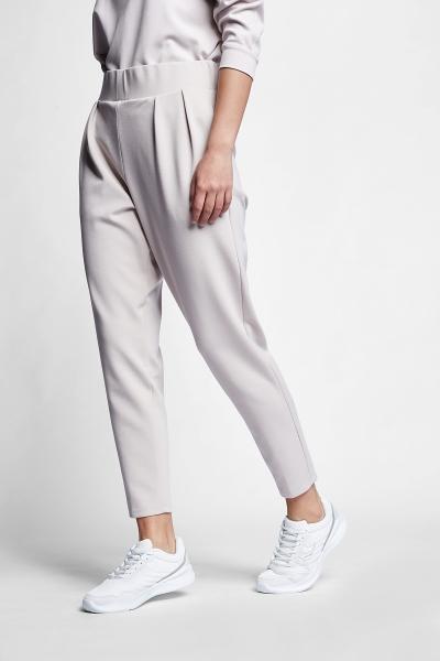 21N-2106 Women Track Pants Ivory