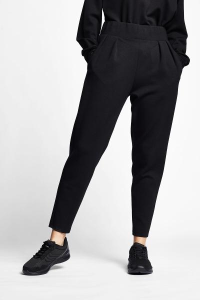 21N-2106 Women Track Pants Black