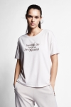 21N-2107 Women T-Shirt Ivory