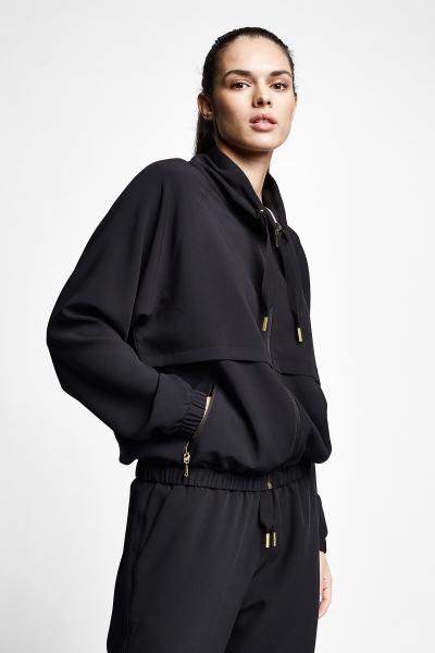 21N-2112 Women Sweatshirt Black