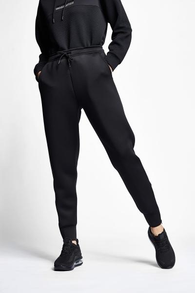 21N-2121 Women Track Pants Black