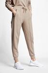 21N-2127 Women Track Pants Caramel