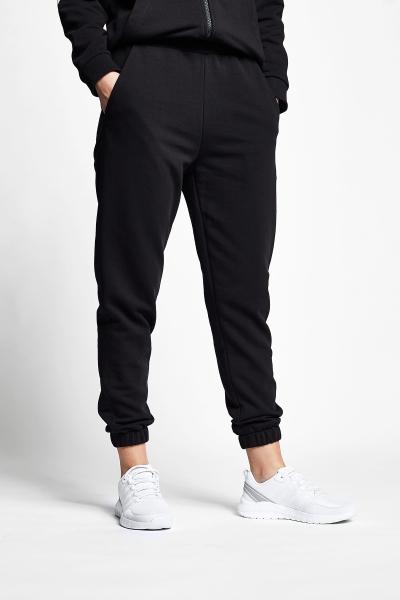 21N-2142 Women Track Pants Black