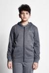 21S-3226-21N Kids Hoodie Grey