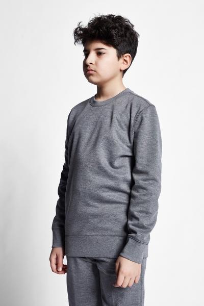21S-3228-21N Kids Sweatshirt Grey