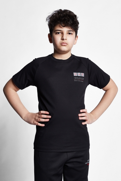21N-3105 Kids T-Shirt Black