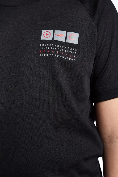 Siyah Çocuk T-Shirt 21N-3105
