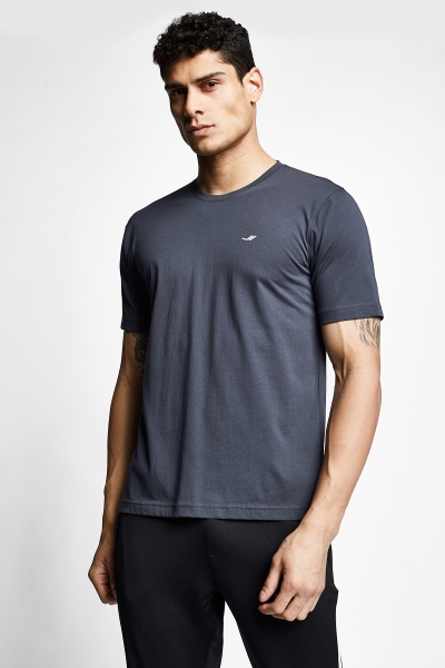 21S-1202-21N Men T-Shirt Anthracite