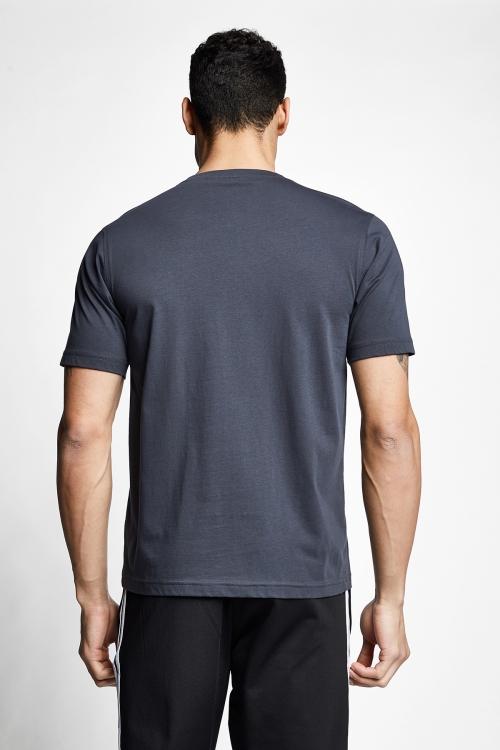 Antrasit Erkek Kısa Kollu T-Shirt 21S-1202-21N