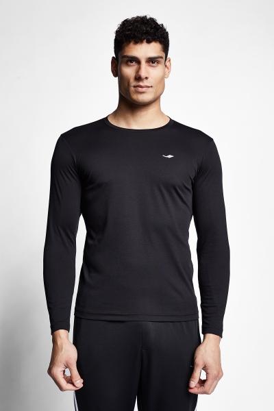 21S-1203-21N Men T-shirt Black
