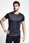 Antrasit Erkek Kısa Kollu T-Shirt 21S-1220-21N
