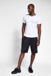 Beyaz Erkek Kısa Kollu T-Shirt 21S-1221-21N