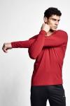 21S-1236-21N Men T-shirt Bordo