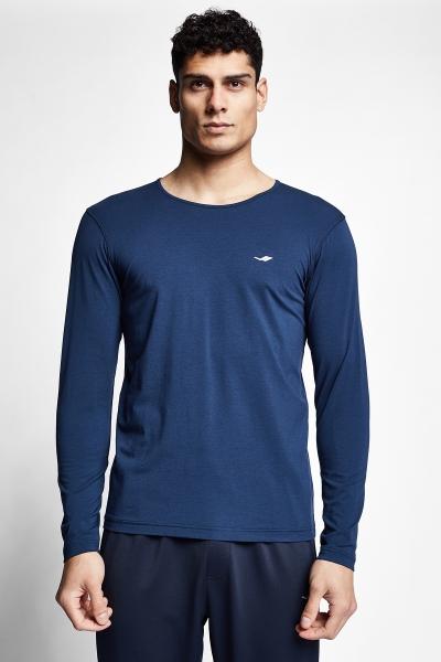 21S-1236-21N Men T-shirt Blue