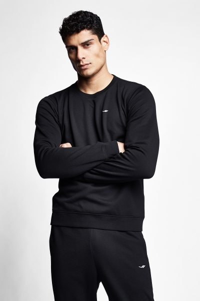 Siyah Erkek Sweatshirt 21S-1242-21N