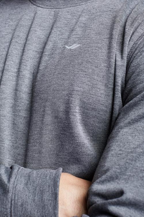 Koyu Grimelanj Erkek Sweatshirt 21S-1242-21N