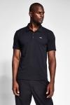 Siyah Erkek Kısa Kollu Polo Yaka T-Shirt 21S-1275-21N
