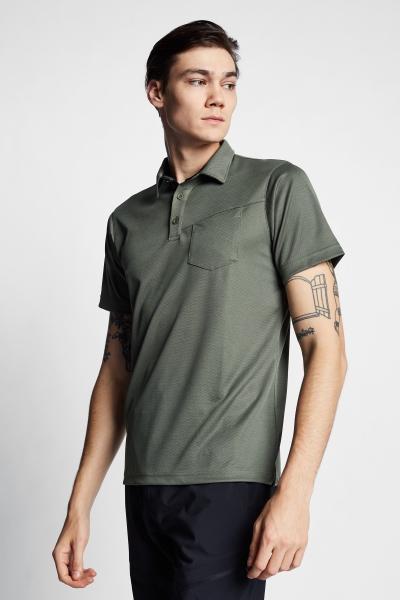 21Y-1065 Men Outdoor T-Shirt Green
