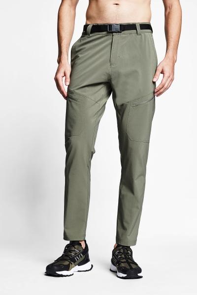 21Y-1077 Men Outdoor Pants Green