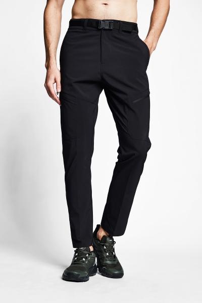 21Y-1077 Men Outdoor Pants Black